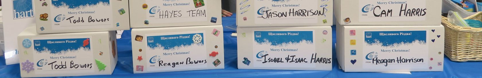 Gift Boxes of Hope (Occurs every September/October)