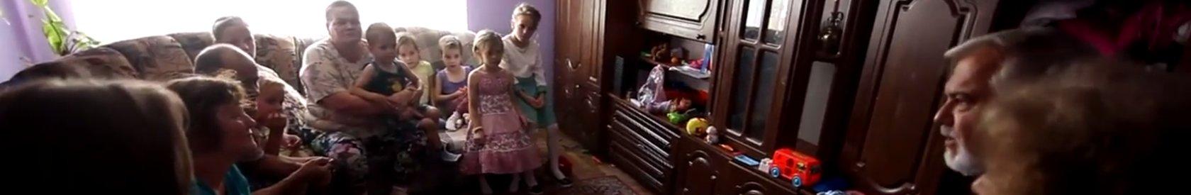 Wilf and Irene Visit their Sponsored Children